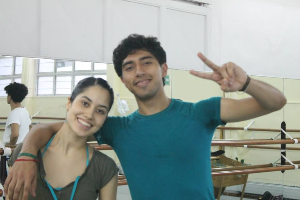 Yoalli Sousa y Jorge Larrazolo.