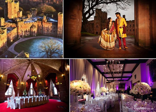 Peckforton Castle Asian Wedding Venue Confetti Co Uk