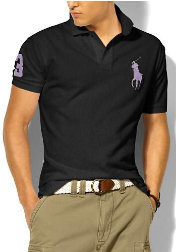 ralph lauren outlet uk Ralph Lauren Men's Classic Slim-Fit Big Pony Short  Sleeve Polo