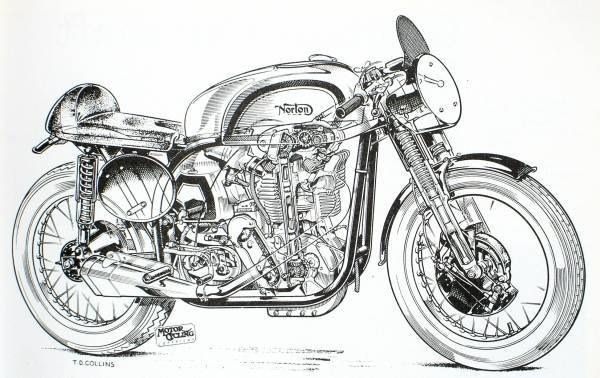 Motorcycle Blueprints And Sectioned Art Blue Print Pinterest - copy blueprint engines bp3501ctc1