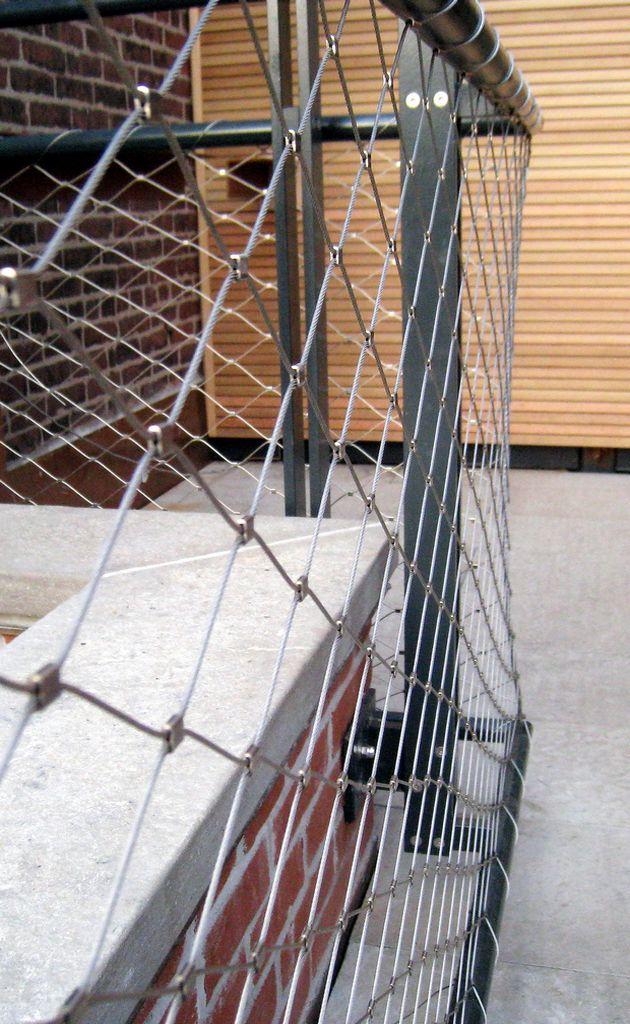 West Village Terrace Railing | Caliper Studio