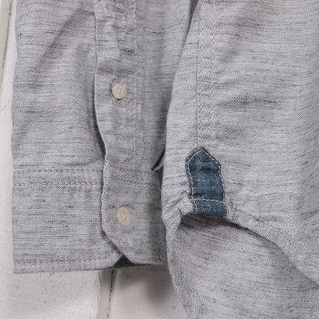 EDWIN Captain Shirt - Grey Rinsed