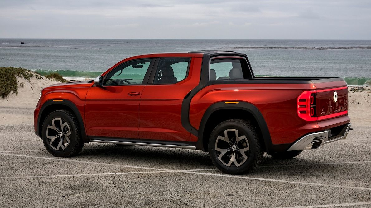 Volkswagen Atlas Tanoak Prototype Drive Atlas Tugged En 2020