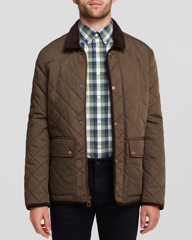 Cole Haan Quilted Barn Jacket Men Coats Jackets Bloomingdale S Jackets Cole Haan Cole