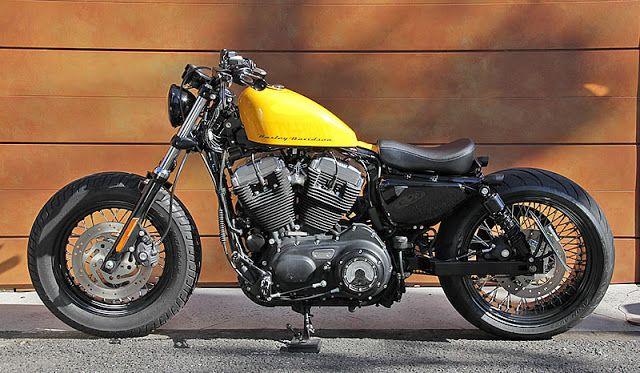Harley davidson xl bobber by rikuyu motors motorcycles