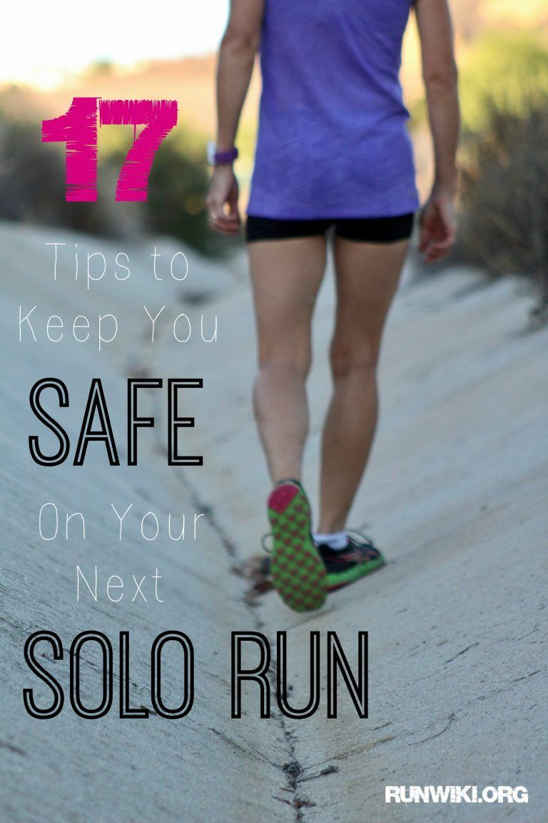 Safety Tips for Women Runners. With everything that is