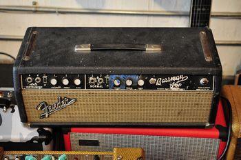 Old Fender guitar amps