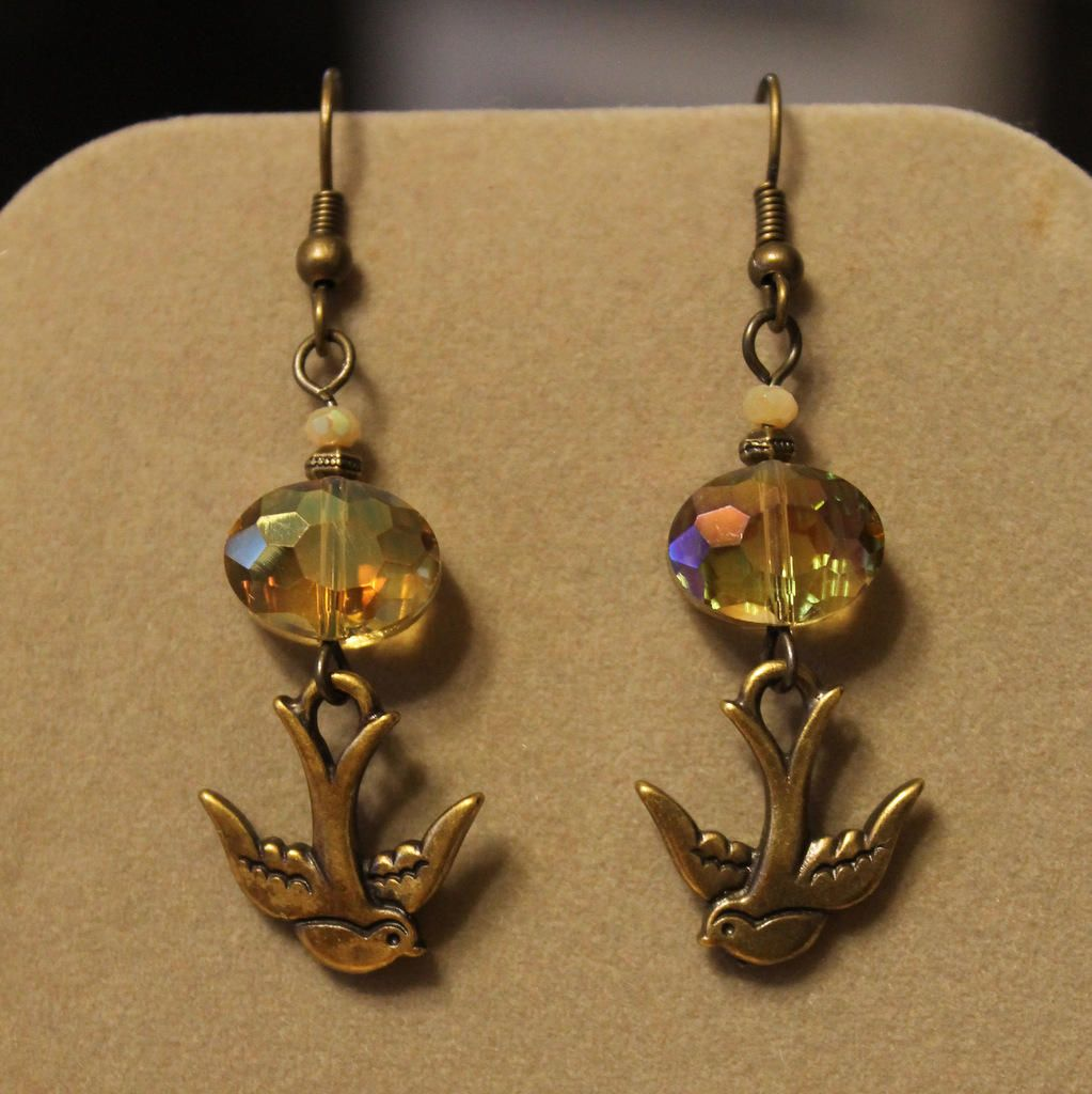 Golden Flight by StoneExpressions on Etsy