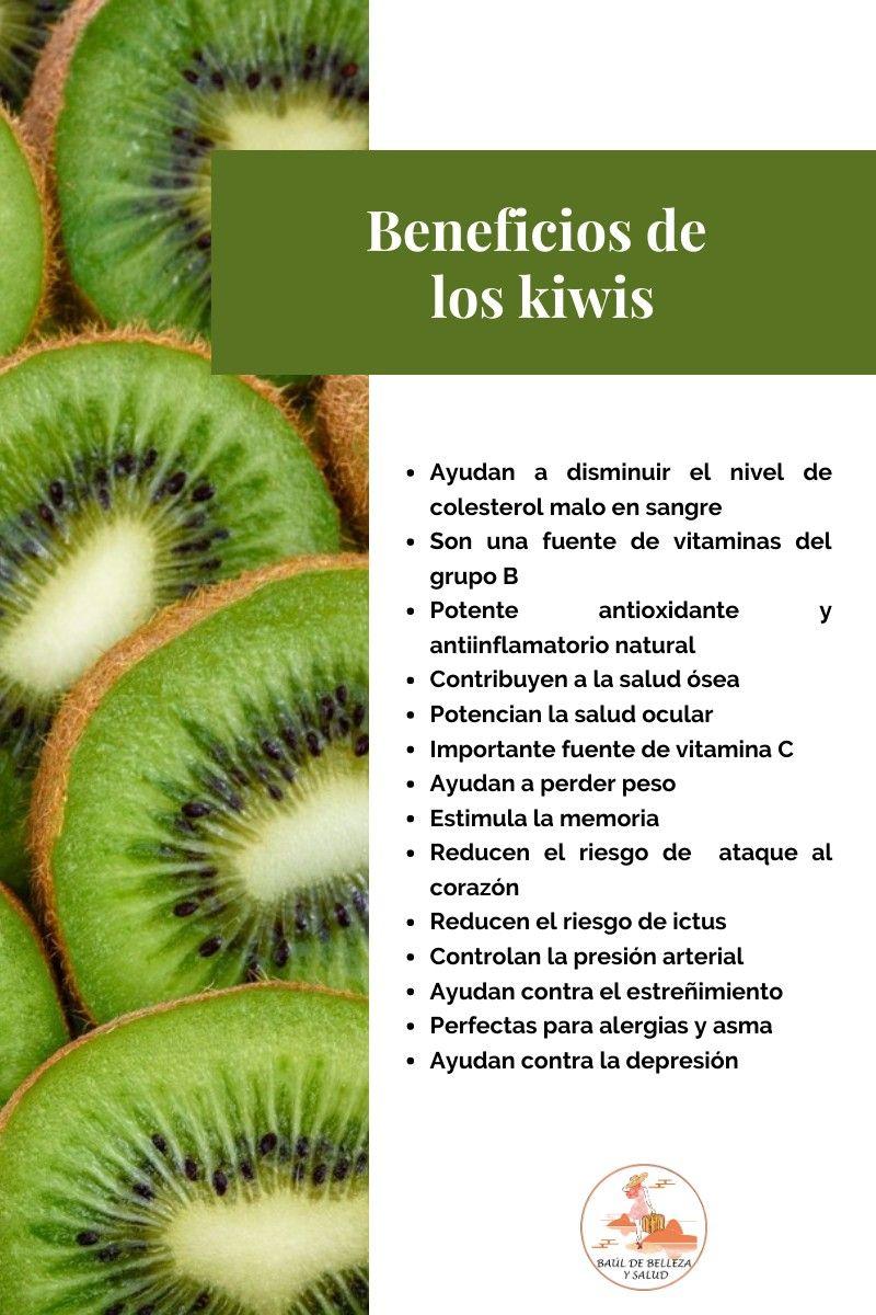 Beneficios De Los Kiwis Frutas Y Verduras Beneficios Beneficios De Las Verduras Recetas Para La Salud