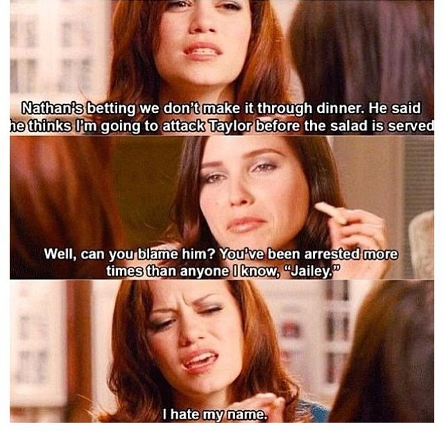 Absolutely Loved Haley In This Episode So Funny Haha One Tree Hill One Tree One Tree Hill Quotes