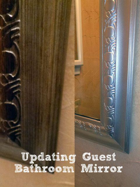 Updating Guest Bath Mirror