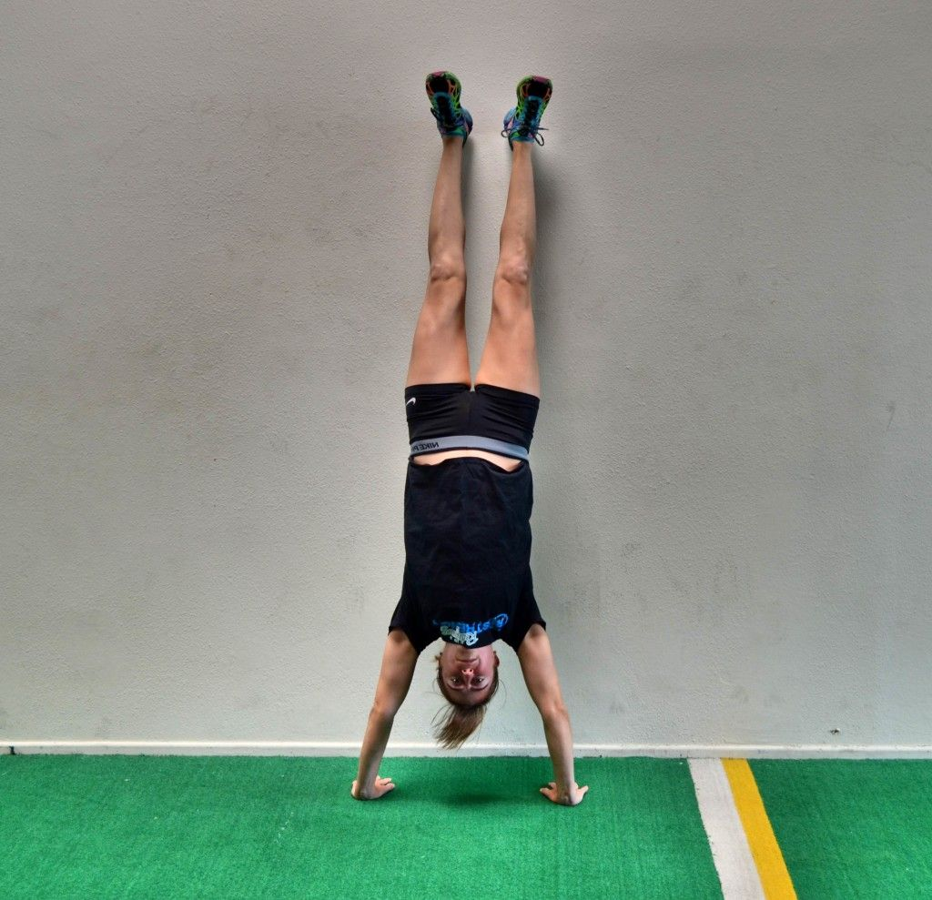 How to do a Handstand Handstand, Yoga for beginners