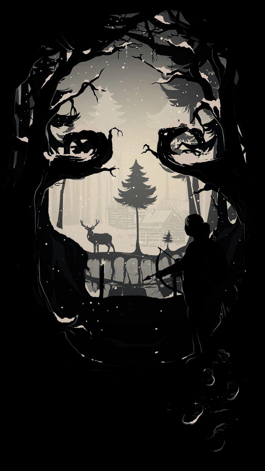 Amoled Wallpaper Hd The Last Of Us Heroscreen The Last Of Us Wallpaper Black Wallpaper