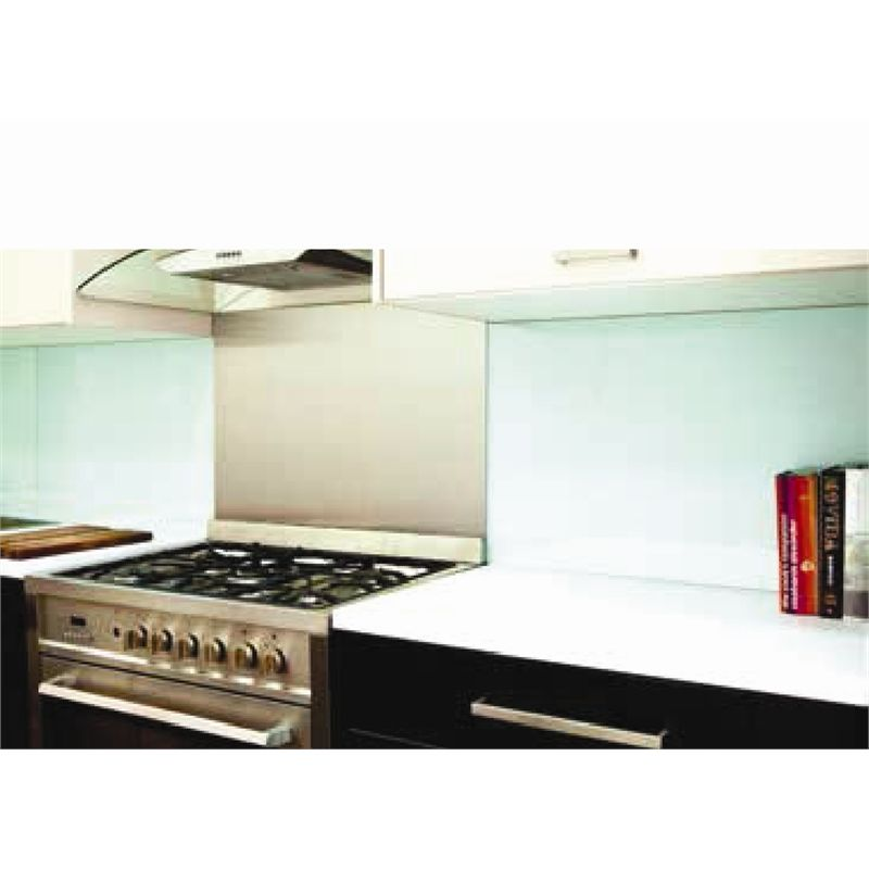 Bunnings Kitchens Design: Highgrove 600 X 570 X 6mm Ice Mint Universal Glass