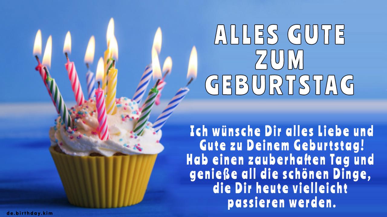 Alles Gute Zum Geburtstag - Geburtstagskarten | Birthday