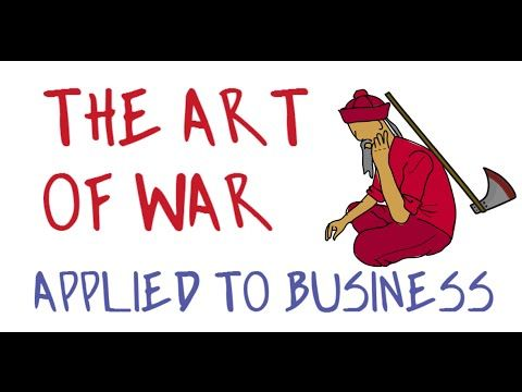 The Art Of War Applied To Business By Sun Tzu Animated Book Review Animated Book Sun Tzu How To Apply