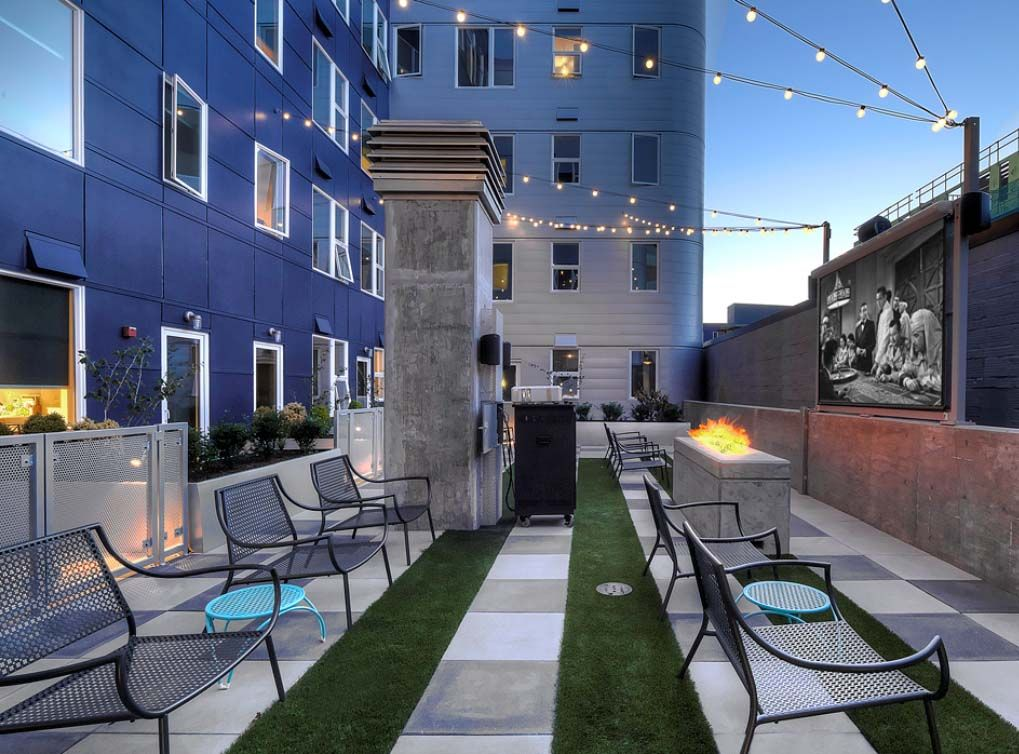 A serene 3,600squarefoot sky deck including outdoor