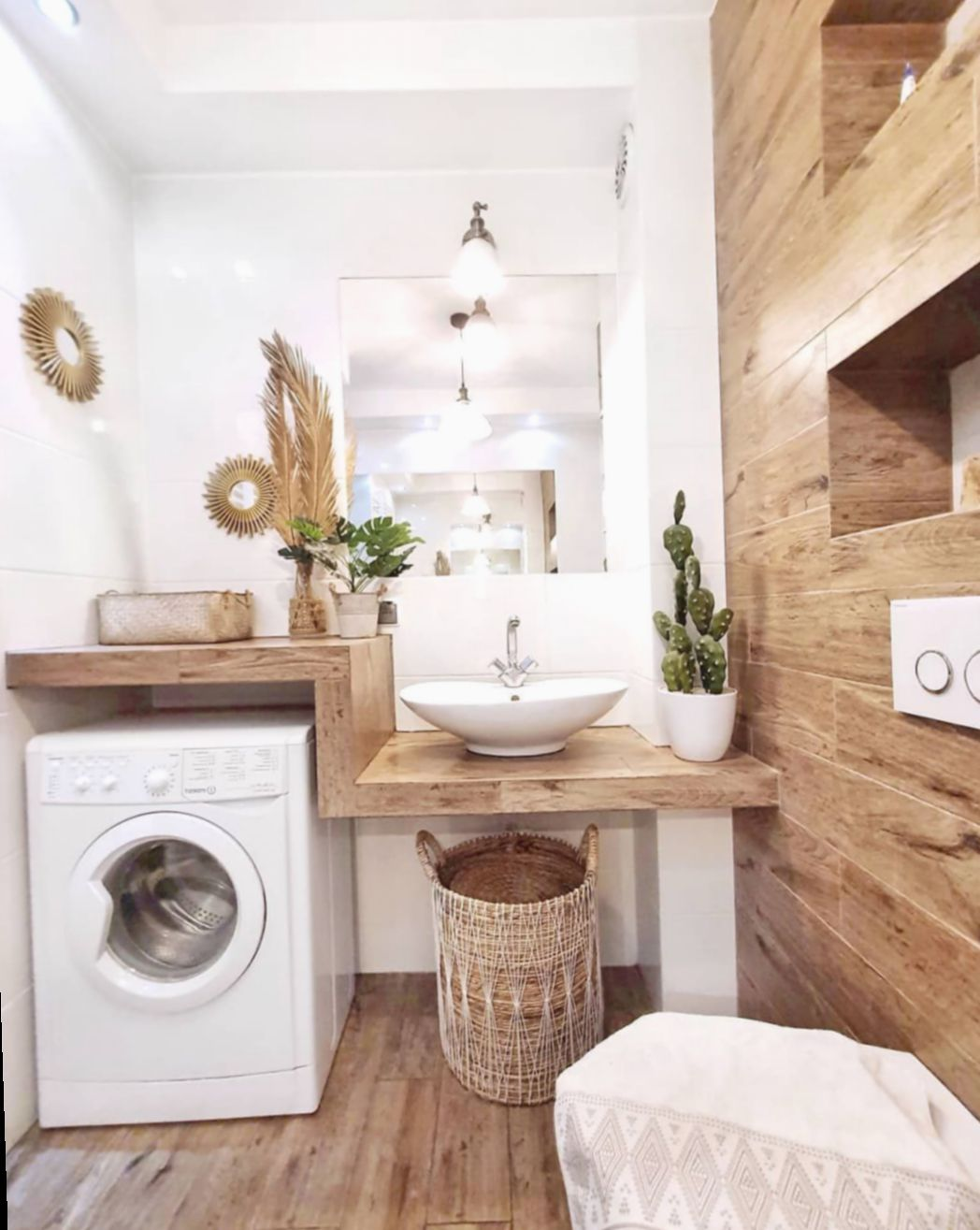 Wooden Bathroom Laundry Rooms This Listing Is For A Set Of 4 Signs Details Listed Below This Beautiful Badeværelsesideer Badeværelse Lille Lejlighedsdesign