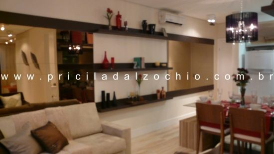 Apartamento Decorado Collection / Arquiteto: Pricila Dalzochio