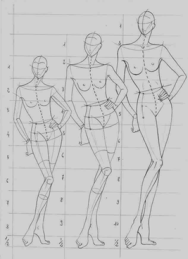 como dibujar figurines de moda - Buscar con Google | diseño para la ...