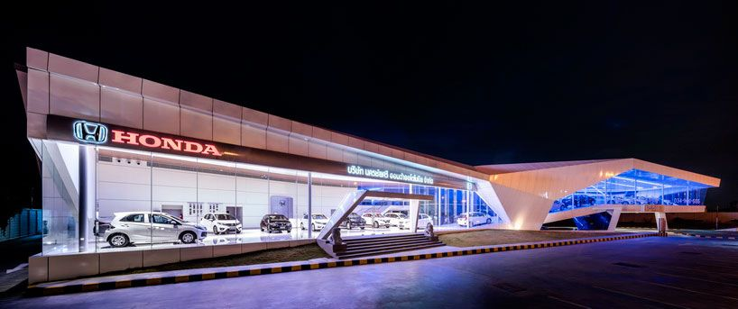 The Buildings Program Includes Showroom Sales Office Reception Area Car Maintenance Garage And Spaces For 100 Vehicles