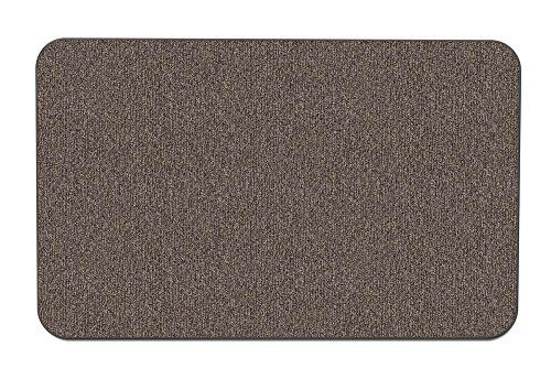 House Home And More Skid Resistant Carpet Indoor Area Rug Floor Mat Pebble Gray 8 Feet X 12 Feet In 2020 Floor Rugs Pebble Grey Indoor Area Rugs