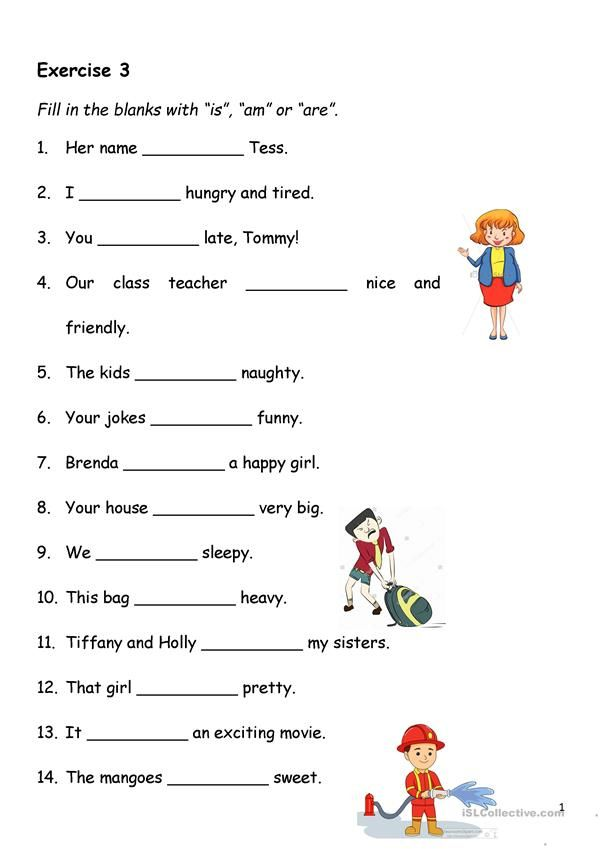 Present Simple - Verb-to-be - English ESL Worksheets In 2020 English  Grammar Worksheets, Grammar Worksheets, English Worksheets For Kids