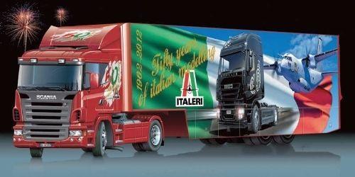Italeri [ITA] 1:24 Scania R620 50th Anniversary Truck/Trailer Plastic Model  Kit #Italeri   Plastic model kits, Trucks, Model kit