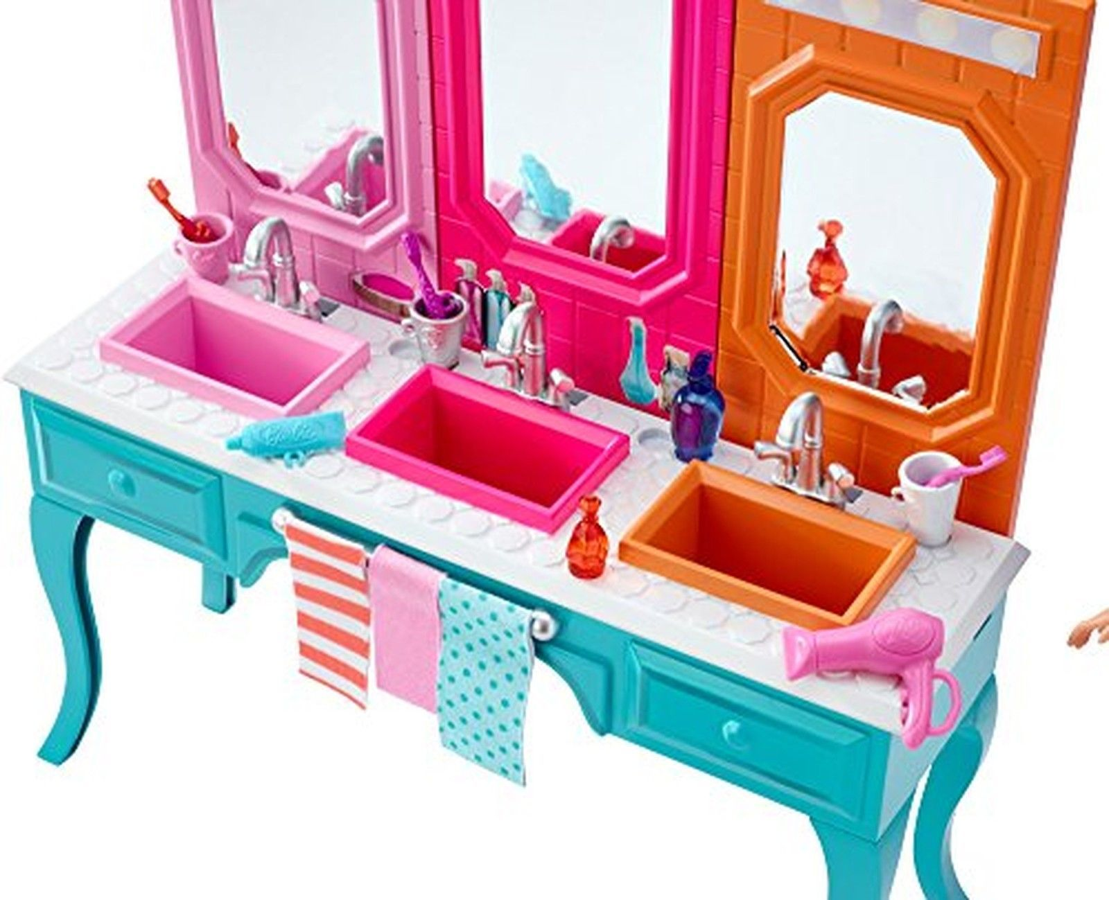 Barbie sisters skipper doll with bath vanity barbie us