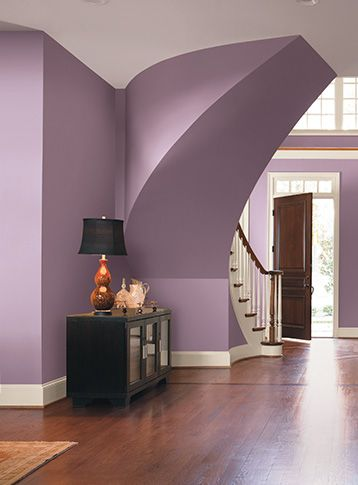 Partnering Delicate Shades Of Purple With Natural Light And Clean White Tones Exudes