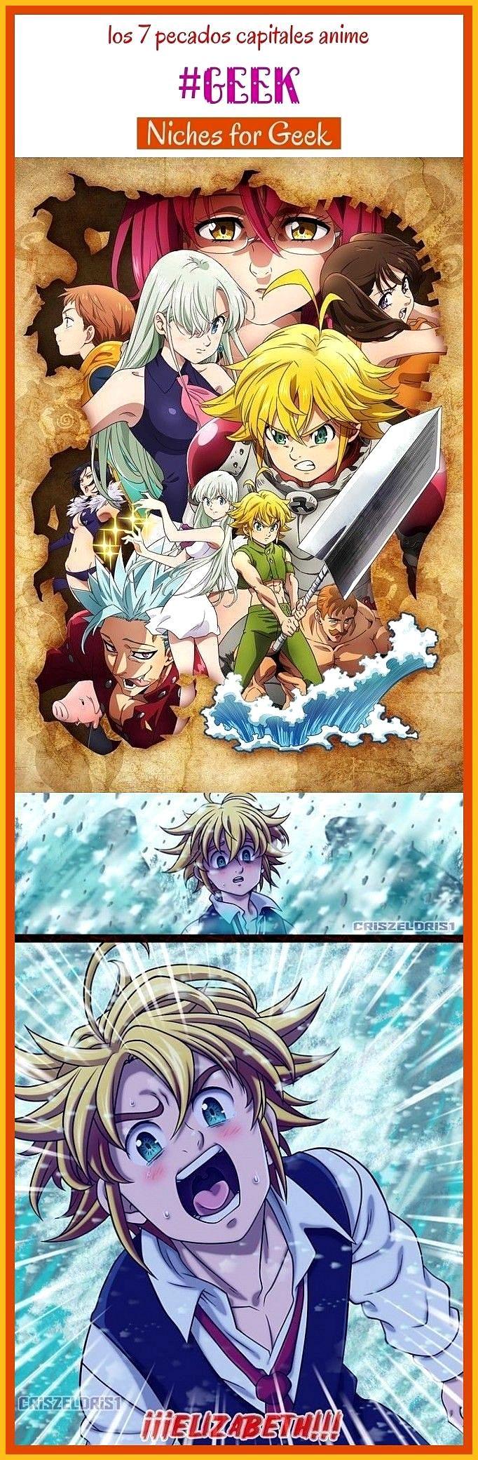 Photo of Los 7 pecados capitales anime geek seotips seo entertainment anime drawings anim…