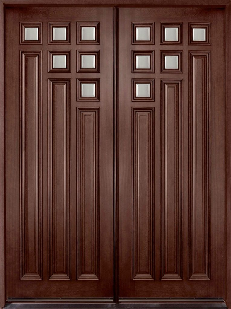 A wooden front door will enhance the natural beauty of your home ...
