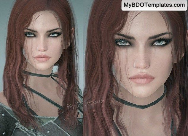 bdo templates dark knight primous black desert online templates