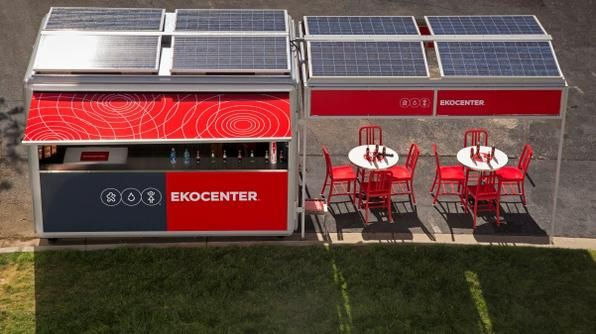 [Coke Code 379] 안전한 물, 태양에너지를 통한 전기, 무선 인터넷을 제공하는 EKOCENTER를 아시나요? 우리가 함께하는 세상을 이루기 위한 코카-콜라의 선물이랍니다! 역시 코-크다운 발상이죠?
