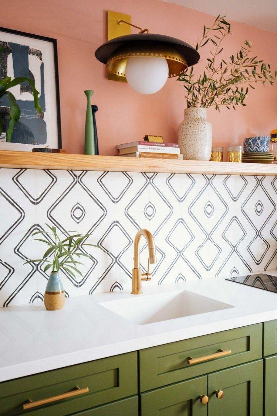 91 Totally Inspiring Kitchen Design Ideas 38 Kitchen Design Small Green Cabinets Interior Design Kitchen