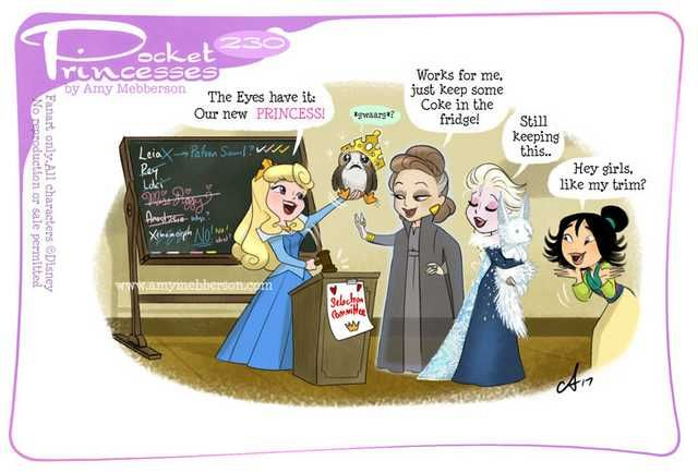 Disney's Pocket Princesses (A Funny Comic by Amy Mebberson)