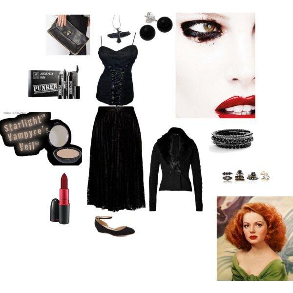 """Raven black"" by desertwaya on Polyvore"