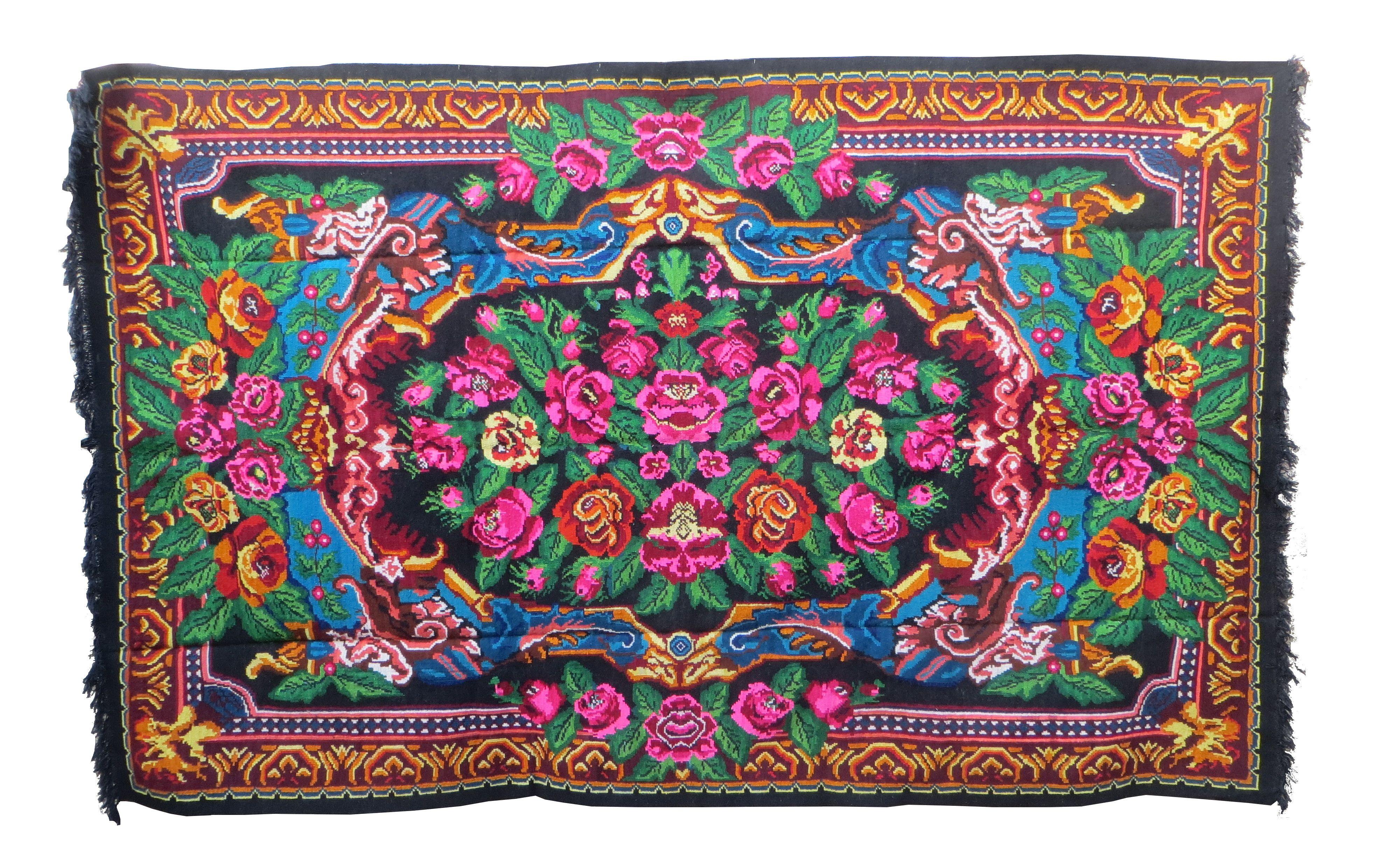 3.37x2.14m 11.05x7.02ft tapis kilim boucherouite rug rose area rug