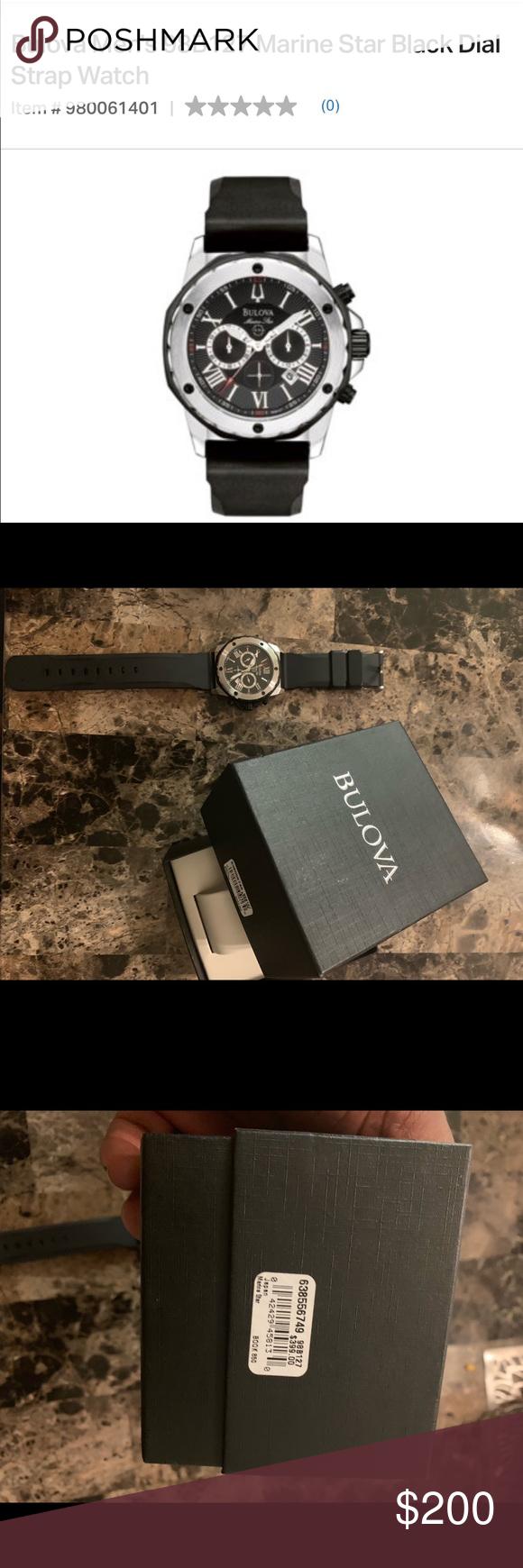 31f2e9730 Bulova Men's 98B127 Marine Star Watch Barely used Bulova men watch. Comes  with box Bulova Accessories Watches