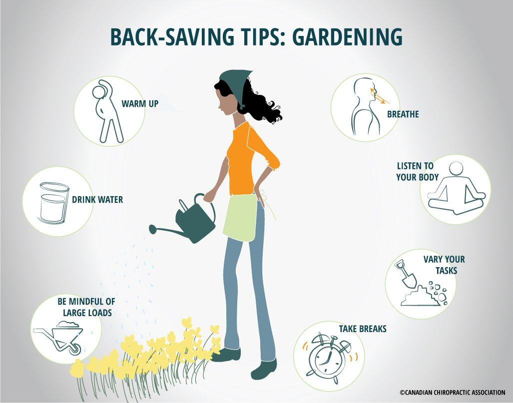 Seven Backsaving Tips for Gardeners Canadian