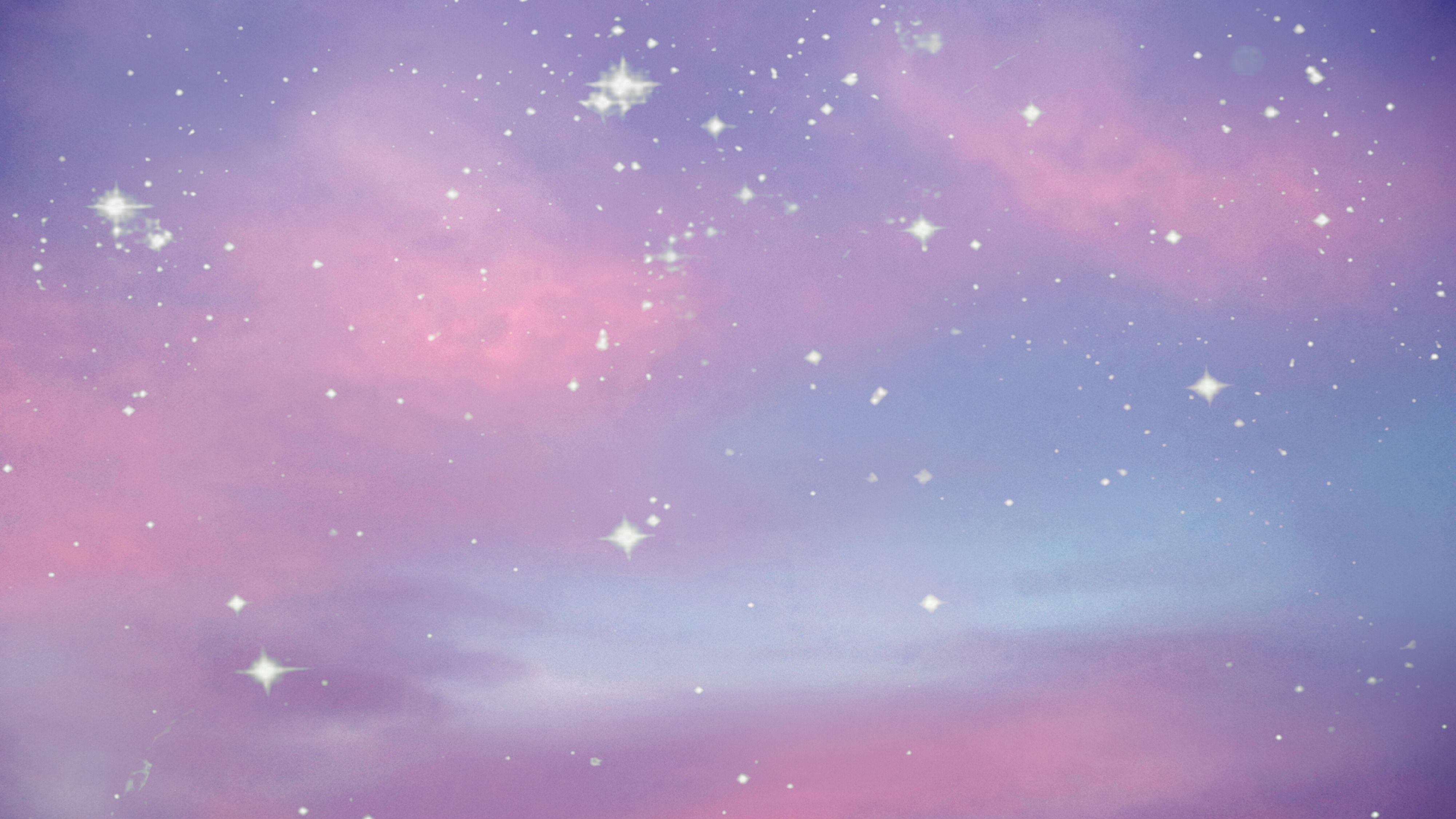 Magical clouds Aesthetic desktop wallpaper, Aesthetic