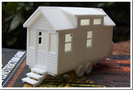 Printed Tiny House Model
