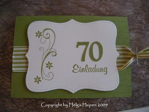 Einladungskarten 70 Geburtstag Selbst Gestalten Biblesuite Co