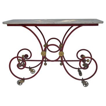 Check out this item at One Kings Lane! 19th-C French Painted