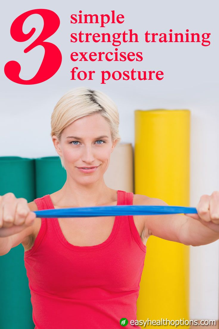 3 simple strength training exercises for posture