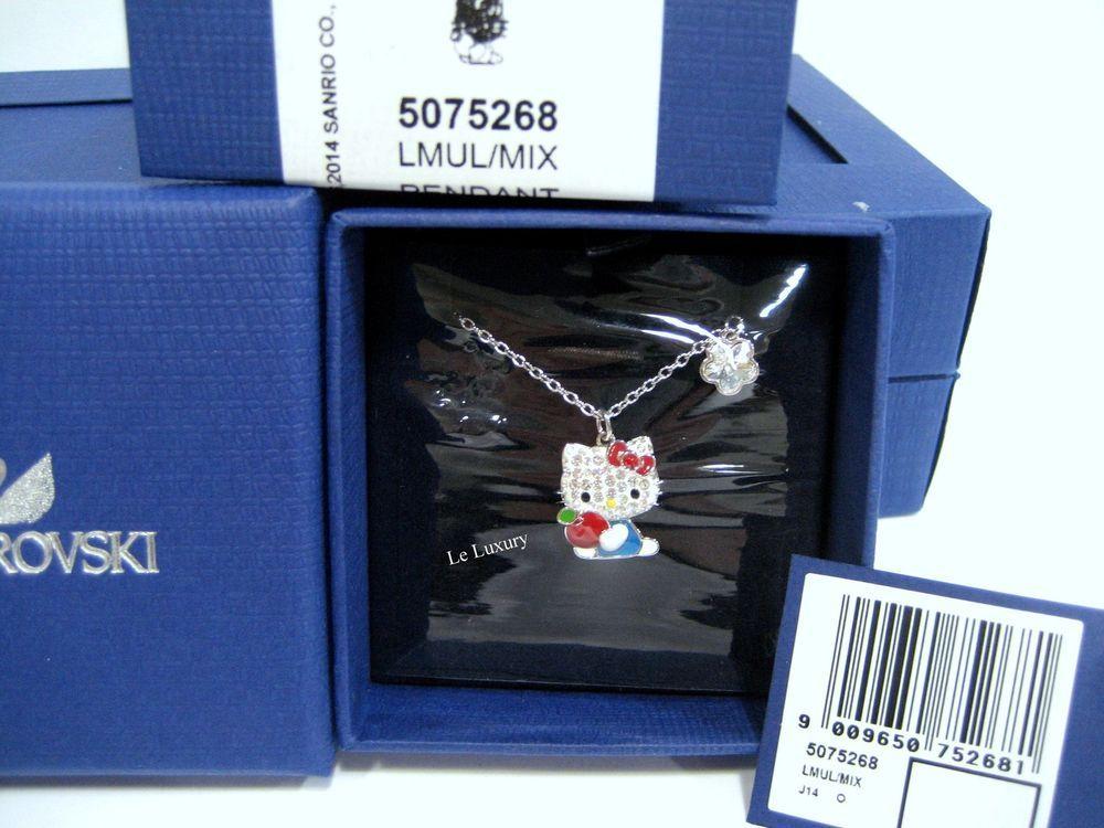 2baaa9a9b Swarovski Hello Kitty Red Apple Pendant, Red Apple Crystal Authentic -  5075268 #Swarovski
