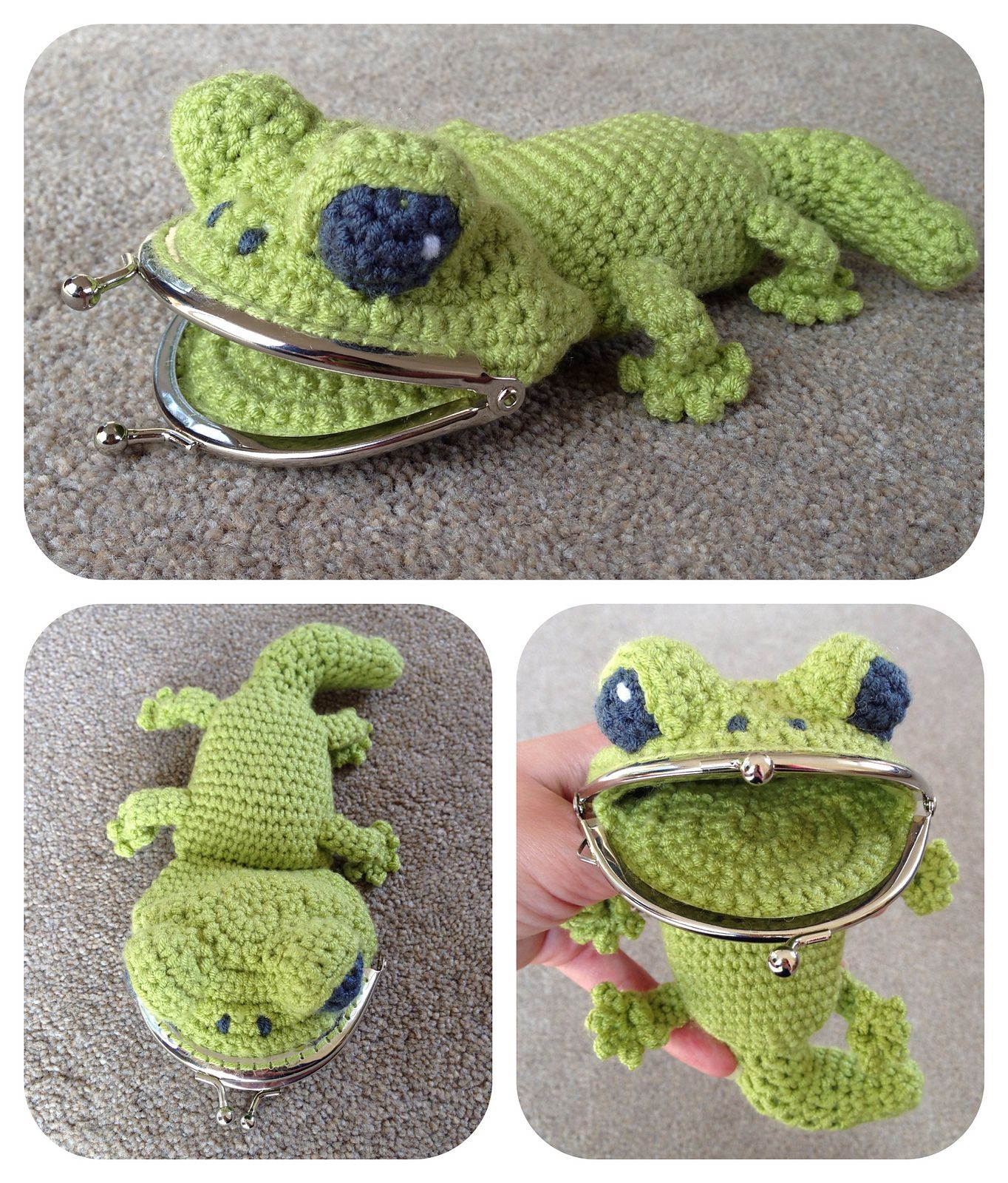 Gecko coin change purse pattern by laura sutcliffe geckos gecko coin change purse pattern by laura sutcliffe bankloansurffo Images