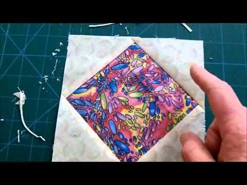 2 Ways to Make Diamond in Square Quilt Blocks
