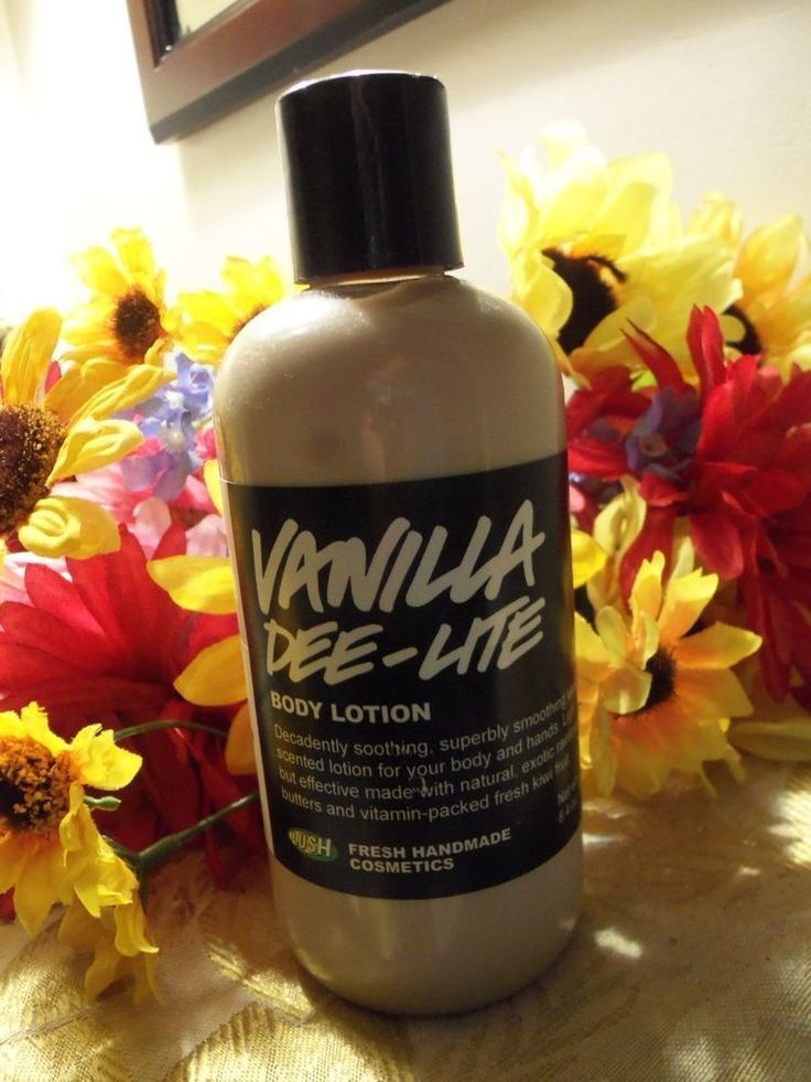 Details about Lush Cosmetics Vanilla Dee-Lite Body Lotion ...