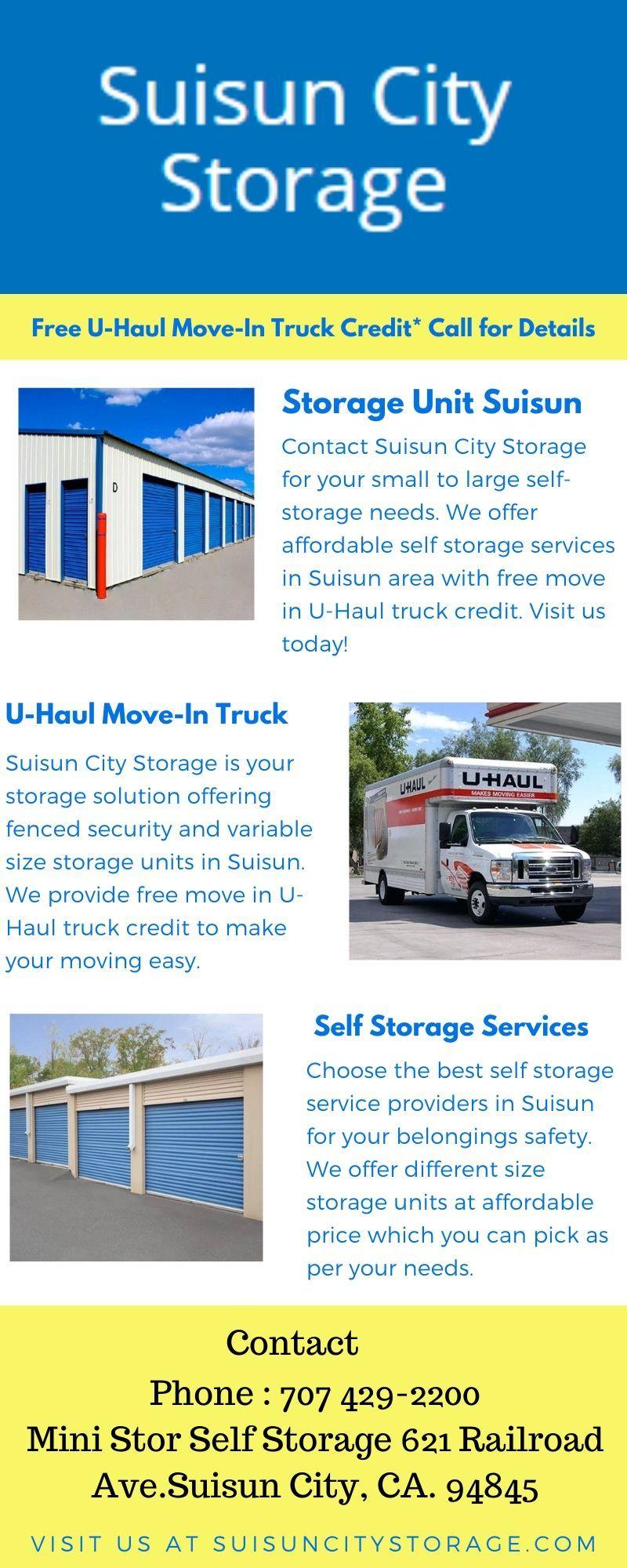 Storage and uhaul near me